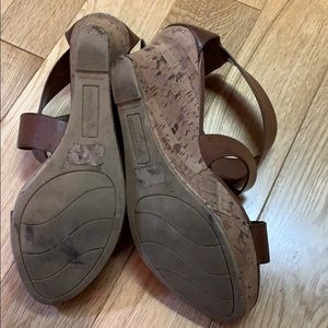 Montego Bay Club Shoes - Brown wedges!